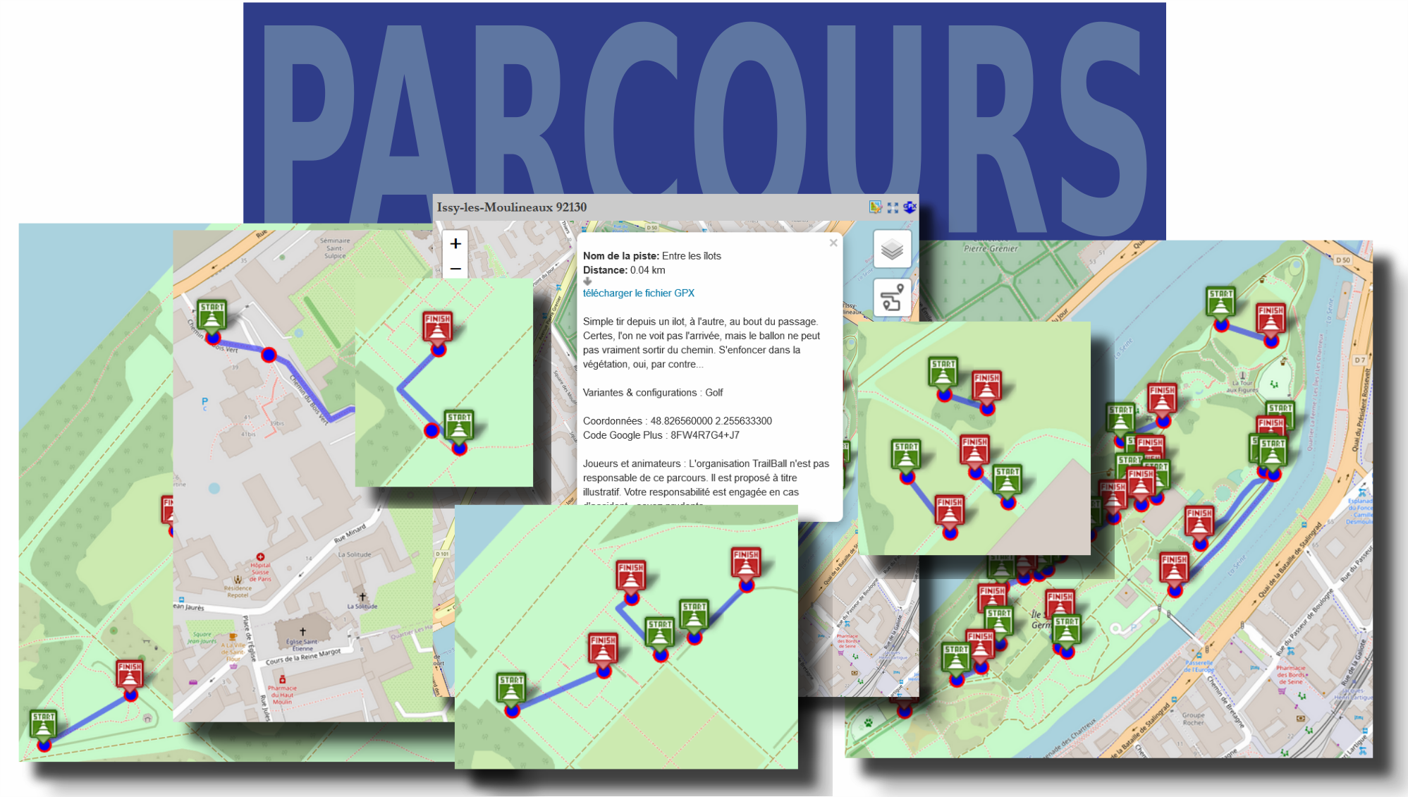 Parcours TrailBall - Catalogue France