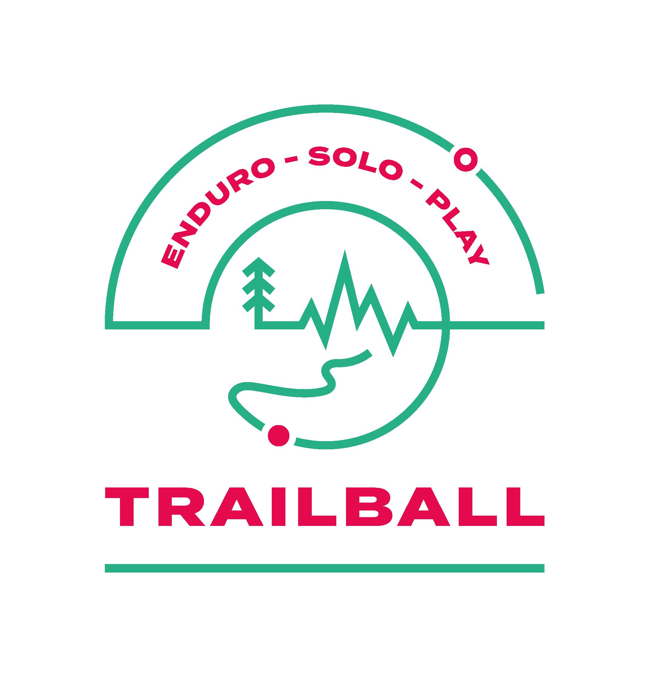 Logo TRAILBALL Enduro - Déclinaison Play Solo