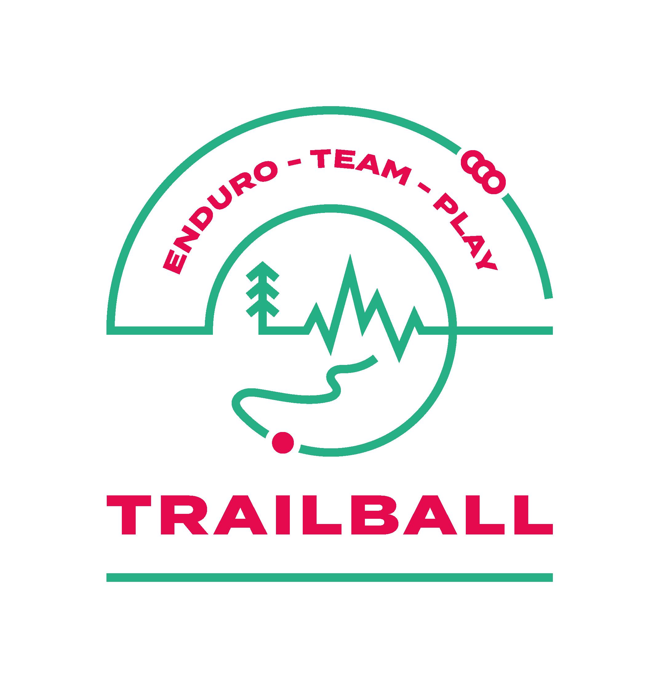 Logo TRAILBALL Enduro - Déclinaison Play Team
